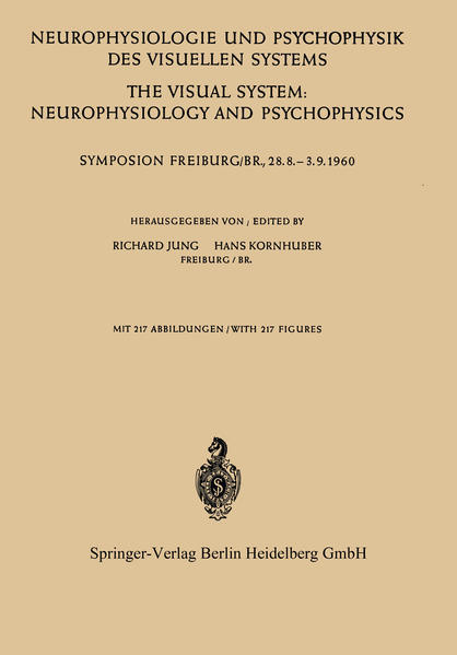 Neurophysiologie und Psychophysik des Visuellen Systems / The Visual System: Neurophysiology and Psychophysics - Coverbild