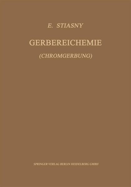Gerbereichemie - Coverbild