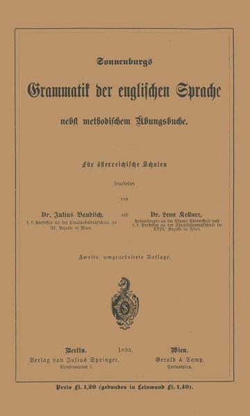 Grammatik der englischen Sprache - Coverbild