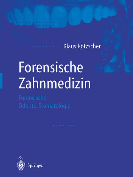 Forensische Zahnmedizin - Coverbild