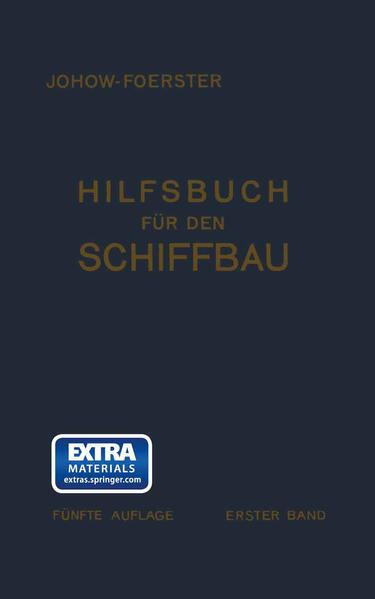 Hilfsbuch für den Schiffbau - Coverbild
