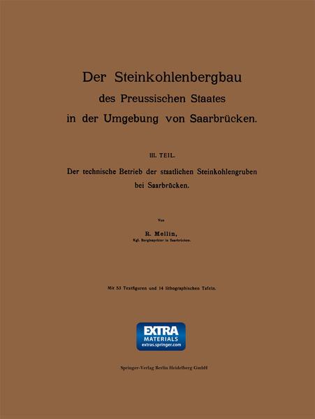 Der Steinkohlenbergbau des Preussischen Staates in der Umgebung von Saarbrücken - Coverbild