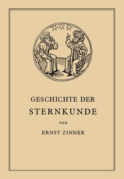 Die Geschichte der Sternkunde - Coverbild