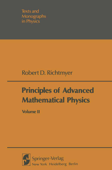 Principles of Advanced Mathematical Physics - Coverbild