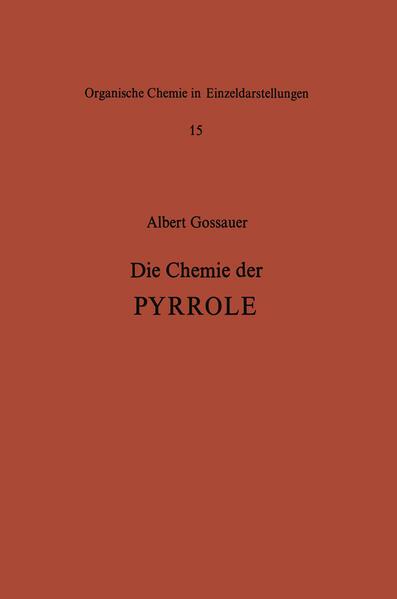 Die Chemie der Pyrrole - Coverbild