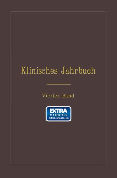 Klinisches Jahrbuch - Coverbild