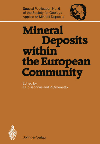 Mineral Deposits within the European Community - Coverbild