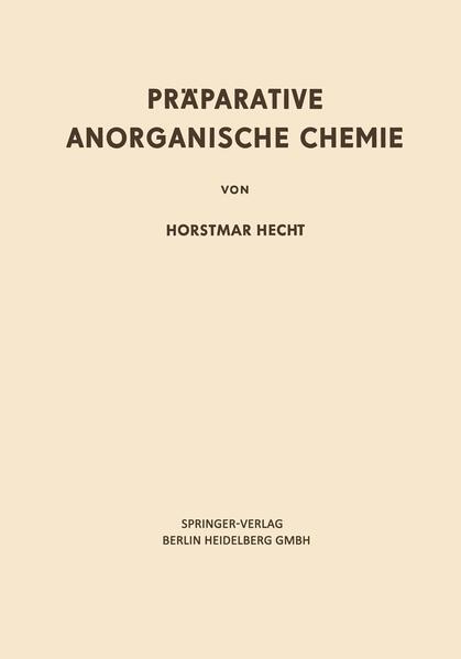 Präparative Anorganische Chemie - Coverbild
