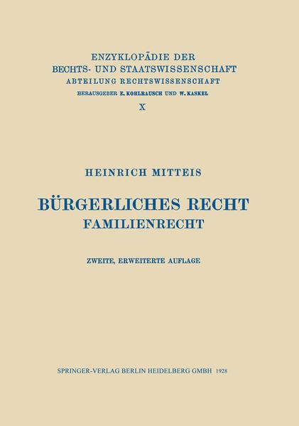 Bürgerliches Recht - Coverbild