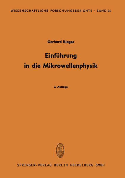 Einführung in die Mikrowellenphysik - Coverbild