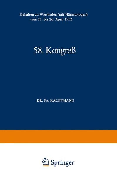 58. Kongreß - Coverbild