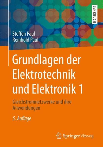 Grundlagen der Elektrotechnik und Elektronik 1 - Coverbild