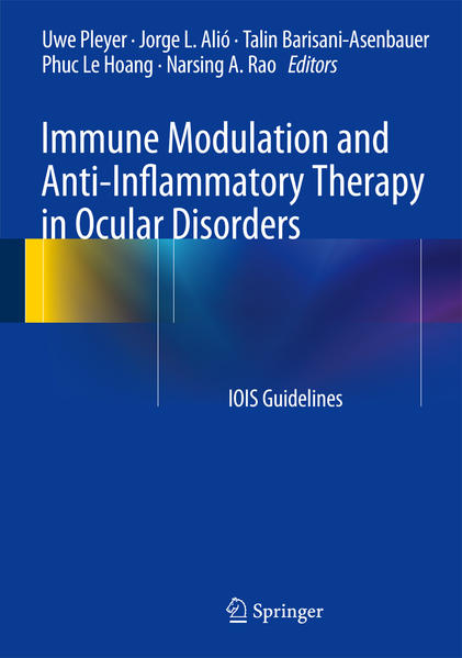 Immune Modulation and Anti-Inflammatory Therapy in Ocular Disorders - Coverbild