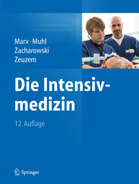 Die Intensivmedizin - Coverbild
