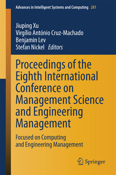 Proceedings of the Eighth International Conference on Management Science and Engineering Management - Coverbild