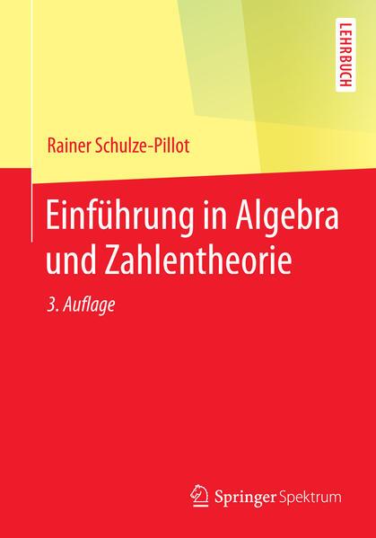 Einführung in Algebra und Zahlentheorie - Coverbild