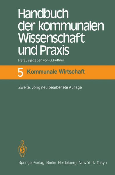 Handbuch der kommunalen Wissenschaft und Praxis - Coverbild