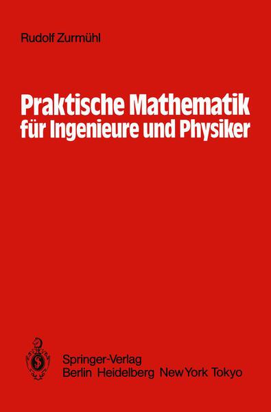 Praktische Mathematik für Ingenieure und Physiker - Coverbild