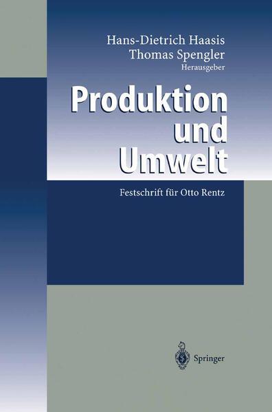 Produktion und Umwelt - Coverbild