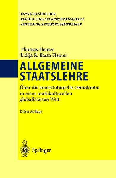 Allgemeine Staatslehre - Coverbild