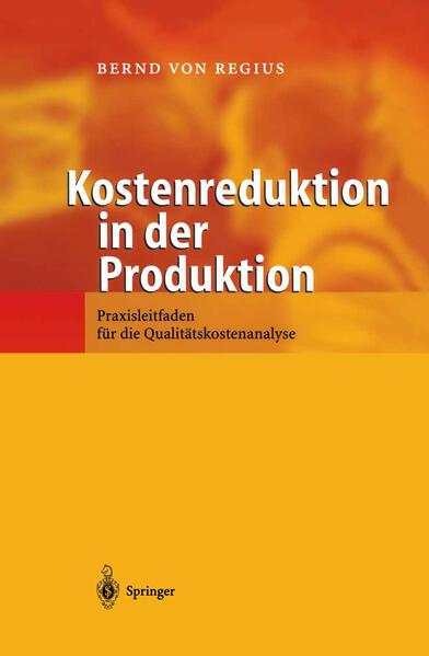 Kostenreduktion in der Produktion - Coverbild
