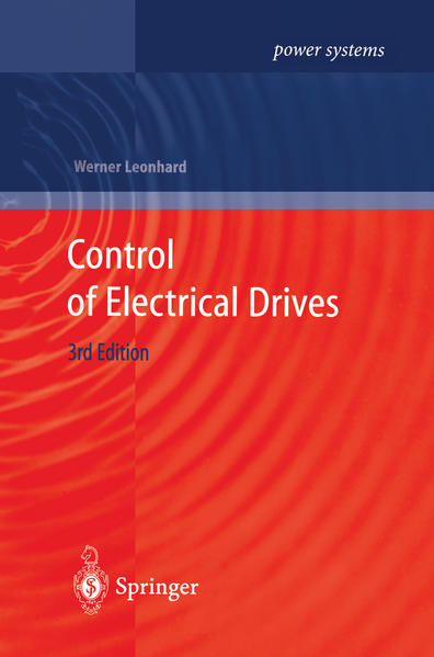 Control of Electrical Drives - Coverbild