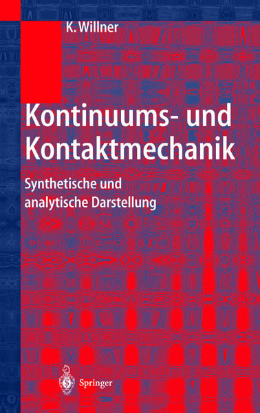Kontinuums- und Kontaktmechanik - Coverbild