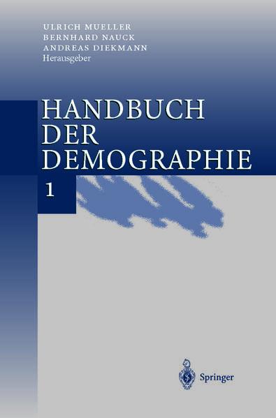 Handbuch der Demographie 1 - Coverbild