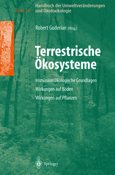 Handbuch der Umweltveränderungen und Ökotoxikologie - Coverbild