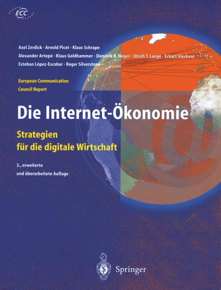 Die Internet-Ökonomie - Coverbild