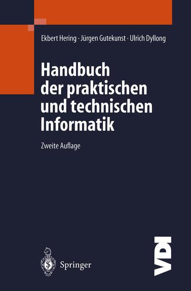 Handbuch der praktischen und technischen Informatik - Coverbild