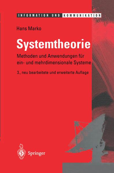 Systemtheorie - Coverbild