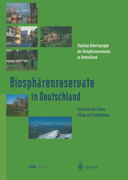 Biosphärenreservate in Deutschland - Coverbild