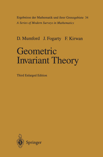 Geometric Invariant Theory - Coverbild