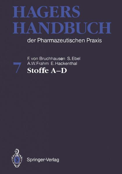Hagers Handbuch der Pharmazeutischen Praxis - Coverbild