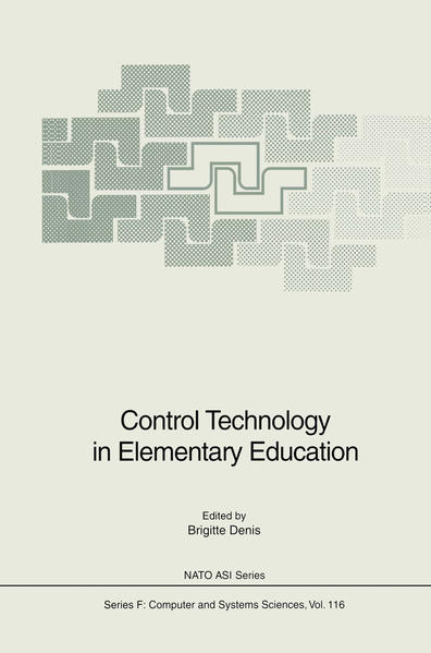 Control Technology in Elementary Education - Coverbild
