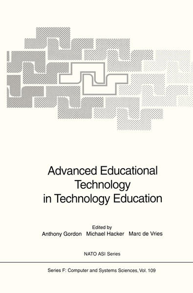 Advanced Educational Technology in Technology Education - Coverbild