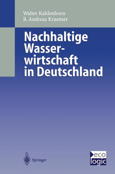 Nachhaltige Wasser-wirtschaft in Deutschland - Coverbild
