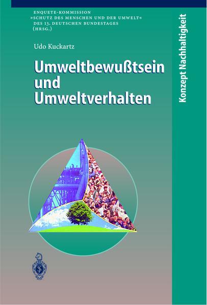 Umweltbewußtsein und Umweltverhalten - Coverbild