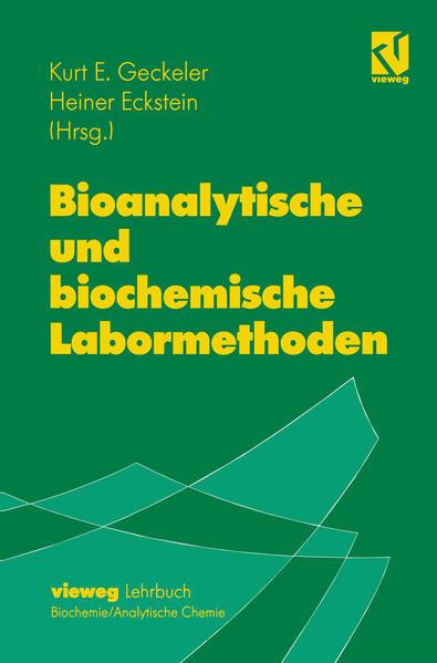 Bioanalytische und biochemische Labormethoden - Coverbild