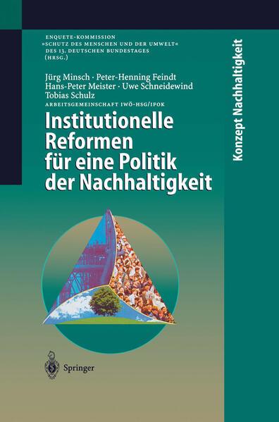 Institutionelle Reformen für eine Politik der Nachhaltigkeit - Coverbild