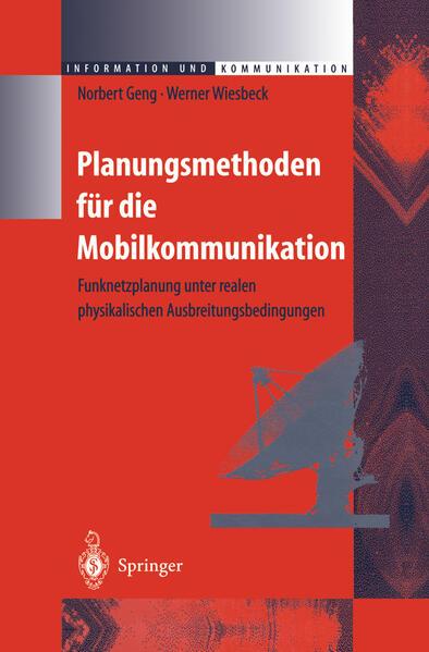 Planungsmethoden für die Mobilkommunikation - Coverbild