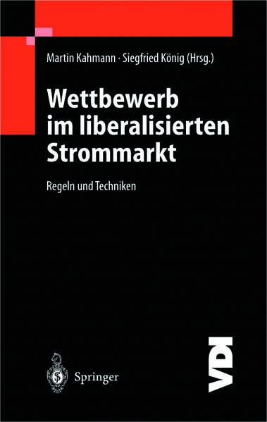 Wettbewerb im liberalisierten Strommarkt - Coverbild