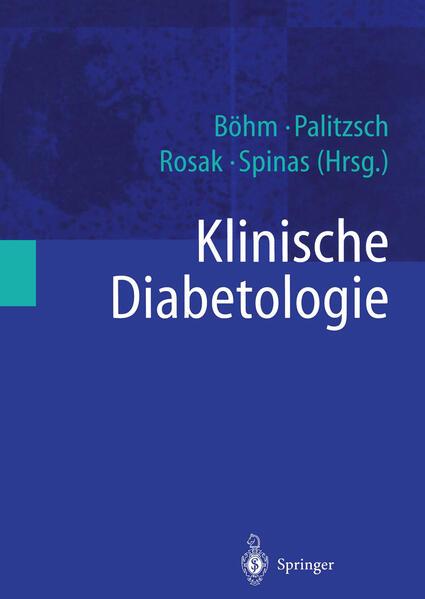 Klinische Diabetologie - Coverbild