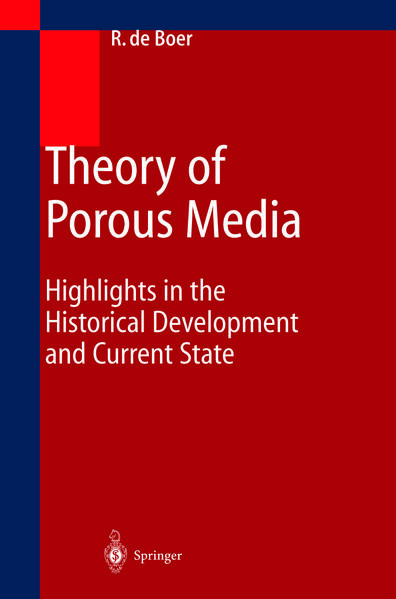 Theory of Porous Media - Coverbild