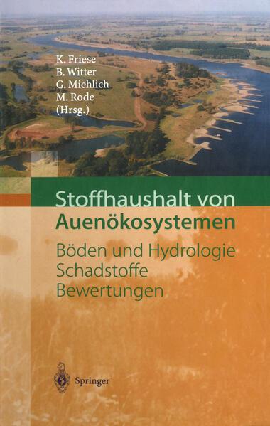 Stoffhaushalt von Auenökosystemen - Coverbild