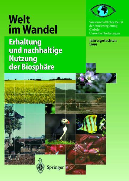 Erhaltung und nachhaltige Nutzung der Biosphäre - Coverbild
