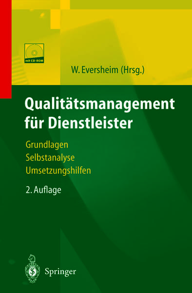 Qualitätsmanagement für Dienstleister - Coverbild