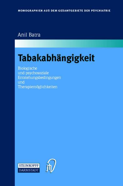Tabakabhängigkeit - Coverbild