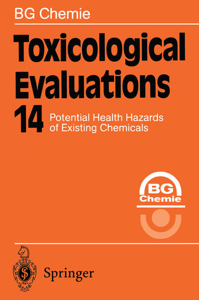 Toxicological Evaluations - Coverbild